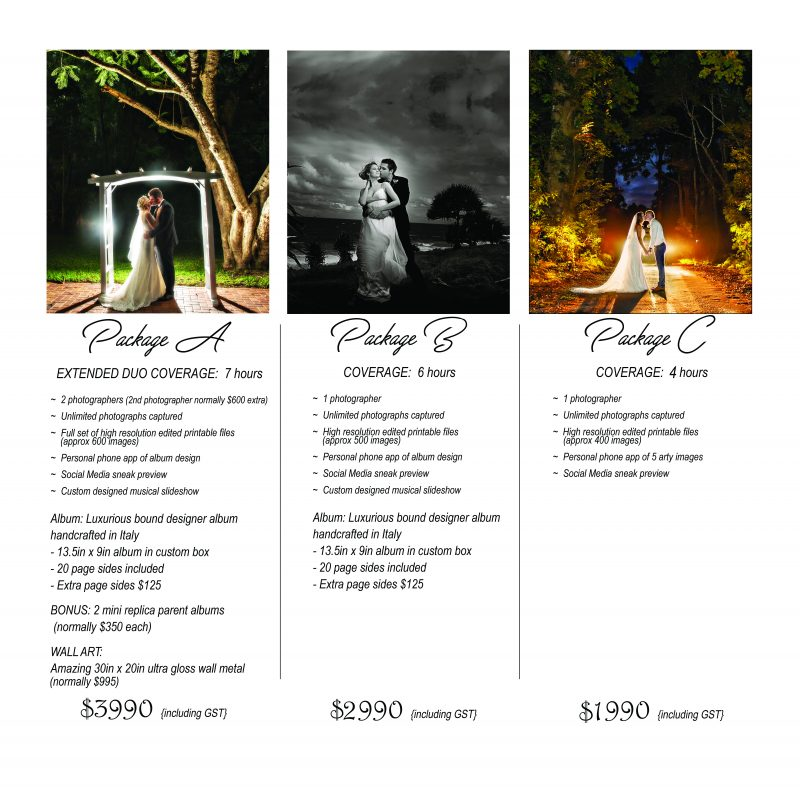 Wedding Photography Investment
